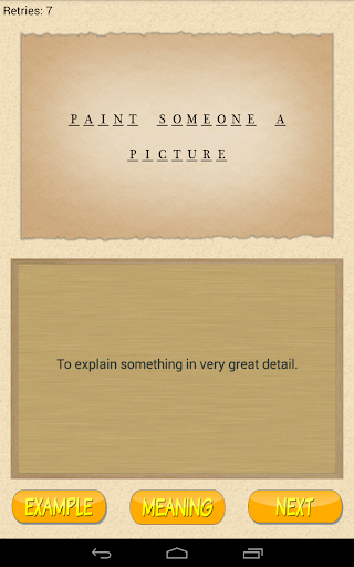 English Guess The Phrase Screenshot