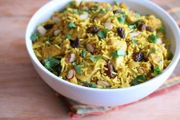 Easy Indian Chicken Biryani Recipe