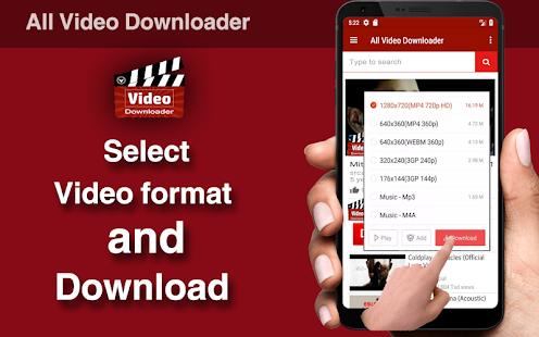 All Video Downloader for PC-Windows 7,8,10 and Mac apk screenshot 3