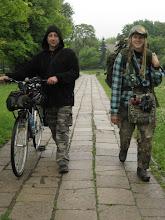 Photo: Oczekując na kolejne połączenie idziemy pospacerować po przydworcowym parku.