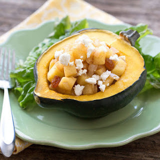 Stuffed Harvest Acorn Squash