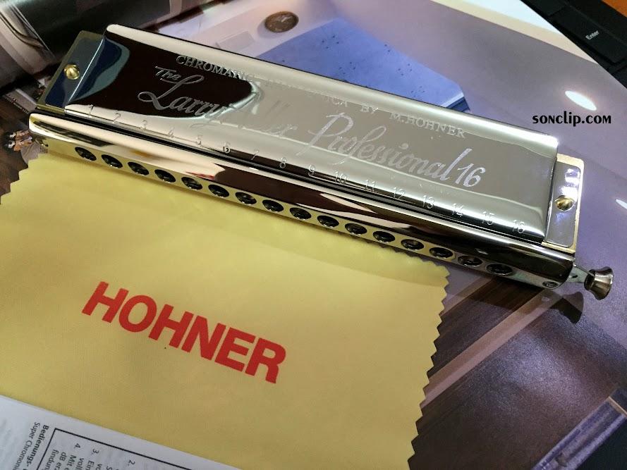 Kèn Harmonica - Hohner Larry Adler 64