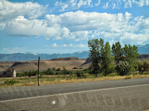 Photo: That is the road out of Greybull going toward the Bighorn mountains