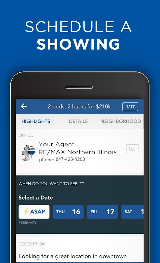 RE/MAX Northern Illinois App- screenshot