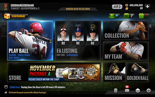 MLB PERFECT INNING 16 screenshot
