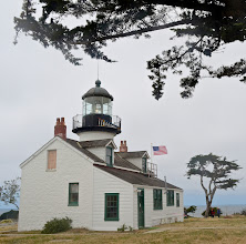 Photo: 51. I spent a half hour or so exploring the Point Pinos lighthouse, within the town of Pacific Grove. It's the oldest continuously operating lighthouse on the whole Pacific coast, all the way back to 1855 ... and so it has a rich history associated with it. You can get a short (15-20 minutes) tour of the insides for a small donation. They explain the workings of the light itself and how ships use the various lighthouses along the coast to avoid crashes. They also have several rooms upstairs decorated according to mid-1800s furnishings. Here's a link ... http://www.ci.pg.ca.us/lighthouse/default.htm