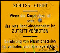 Photo: Schiessgebiet