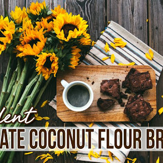 Decadent Chocolate Coconut Flour Brownies.