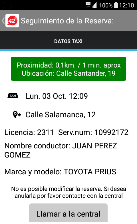 TAXI ZARAGOZA- screenshot