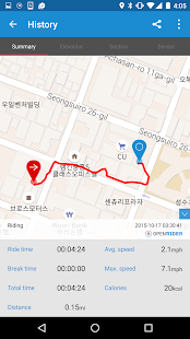 Openrider - GPS Cycling Riding- screenshot thumbnail