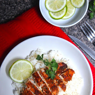 Lazy Girl Sweet + Spicy Lime Chicken.
