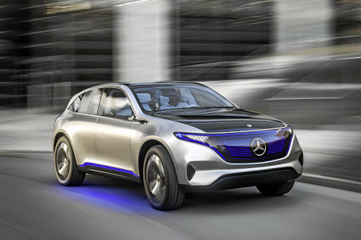 The concept EQ SUV coupé gives a preview of a new generation of Mercedes vehicles with battery-electric drives. Picture: SUPPLIED