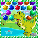 Dinosaur bubble Shooter Pop icon