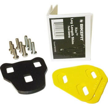 Bike Fit Systems Length Shims: Road, Look 3-Hole Keo