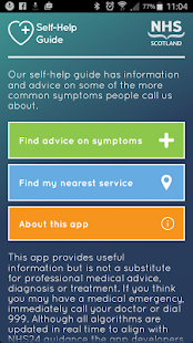 Nhs self help guide android apps on google play nhs self help guide screenshot thumbnail sciox Choice Image
