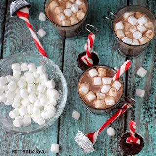 Stove top Hot Cocoa with Dippers