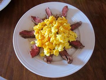 Manly Man Steak & Eggs Recipe