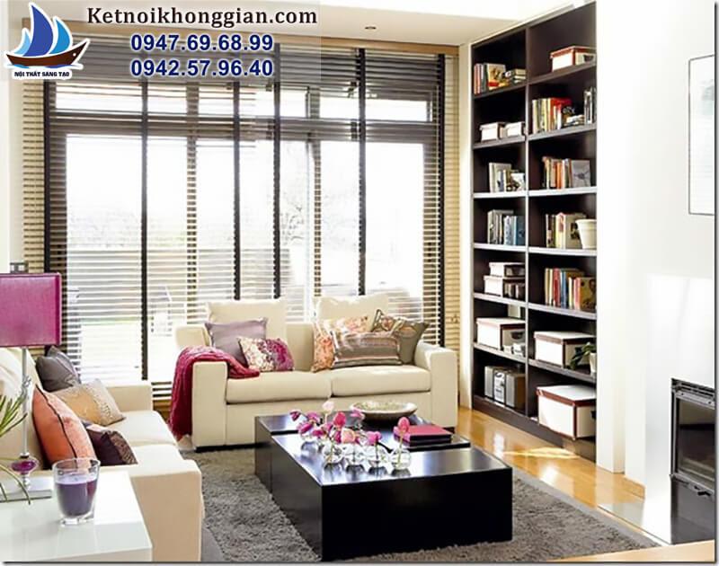 thiết kế phòng đọc sách gia đình hợp mềnh gia chủ