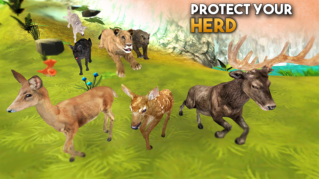 Animal Sim Online: Big Cats 3D- screenshot