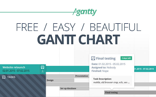Agantty free gantt chart chrome web store agantty first steps getting started free projectmanagement tool ccuart Gallery