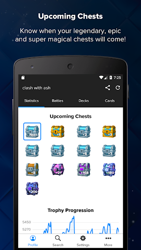 Stats Royale for Clash Royale 1.9.1 screenshots 2