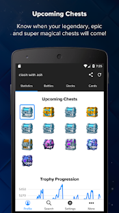 Stats Royale for Clash Royale Screenshot
