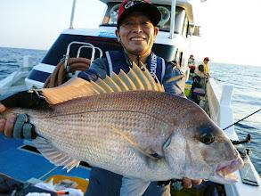 Photo: YES! 真鯛3kgオーバー! やったぜー