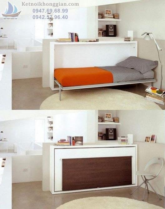 nội thất thông minh giường gấp
