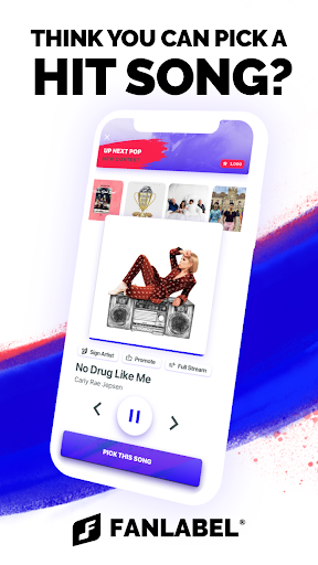 FanLabel - Daily Music Contests screenshots 1