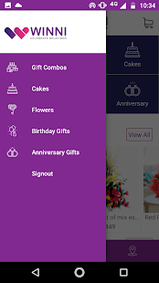 Winni - Cake & flower delivery- screenshot thumbnail