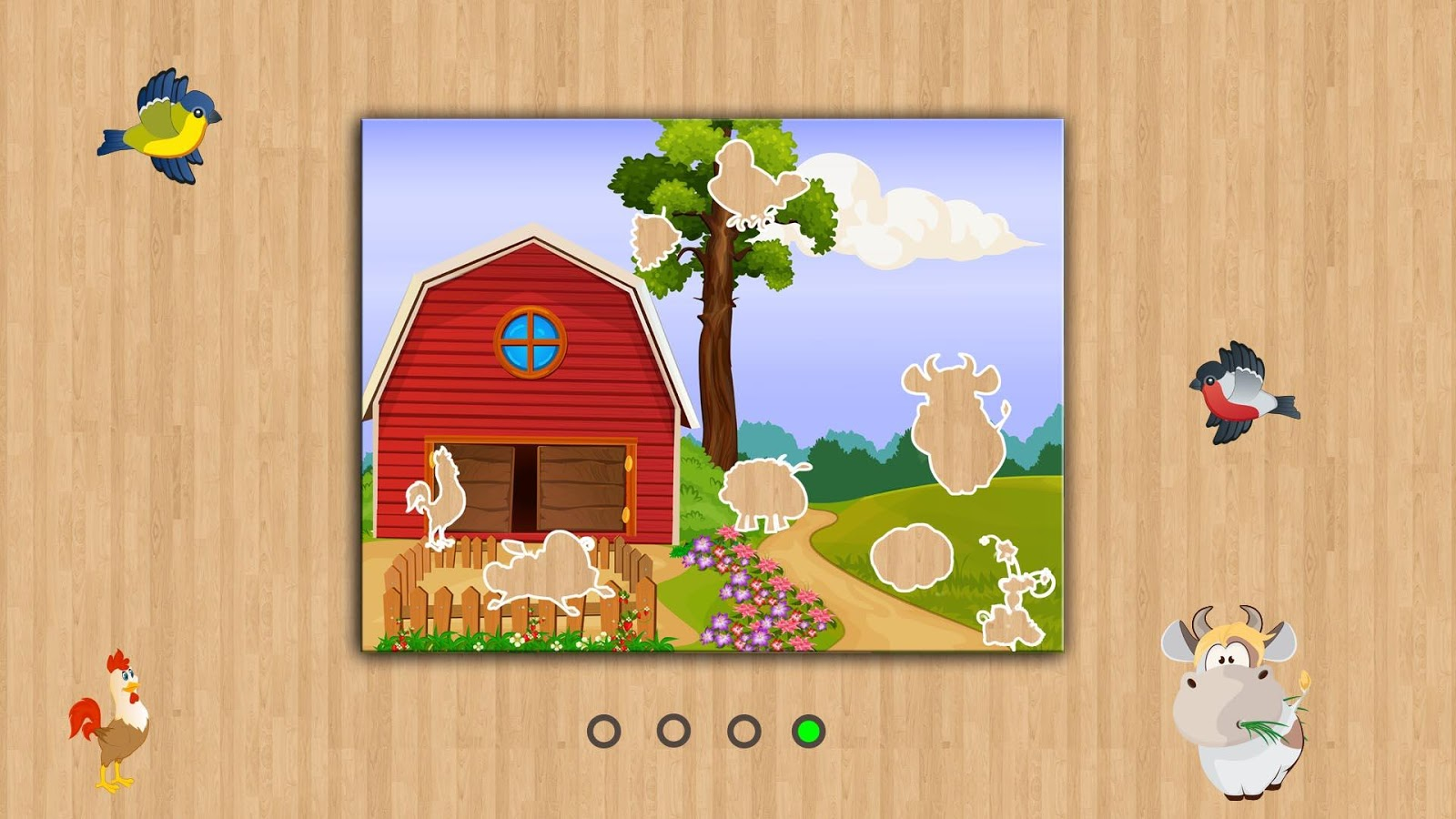 Fun puzzle with Dolly- screenshot