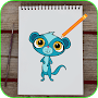 How To draw LPS APK icon