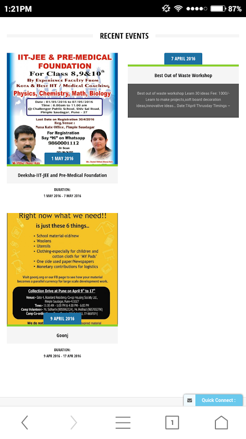 Pimple Saudagar Biz Directory- screenshot