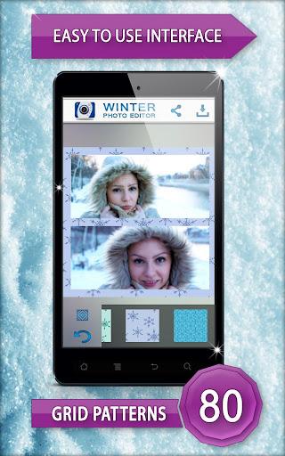 冬天的照片编辑器