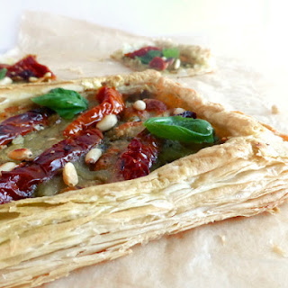 Sun-dried Tomato and Pesto Tart