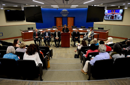 Community members ask for transparency, trust during forum for Longmont's next public safety chief