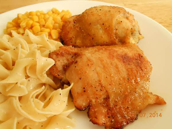 Lemon-pepper Baste And Bake Chicken