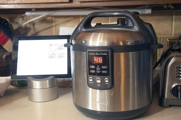 Set the slow cooker to low, and allow the ingredients to cook for 4...
