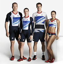 """Photo: Great Britain's Olympic uniforms were designed by a collaboration between Stella McCartney and Adidas. """"You shouldn't have to sacrifice style for sport,"""" McCartney told BBC.  What do you think about this team's look?"""