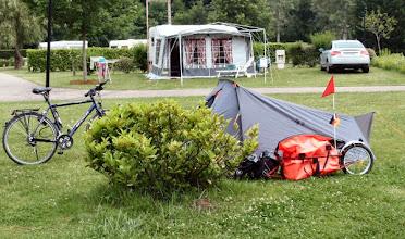 Photo: mein Platz auf dem CP in Villey-les-Sec´