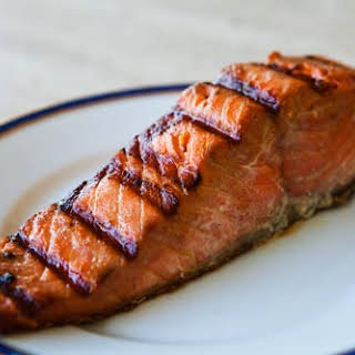 Easy Grilled Salmon.