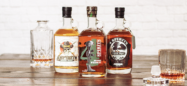 4 Spirits Bourbon and Their Other Whiskeys