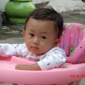 My Baby Girl by Yoga Sanjaya - Babies & Children Child Portraits