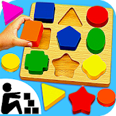 Sudoku Color Shapes Puzzle : Kids Free Game