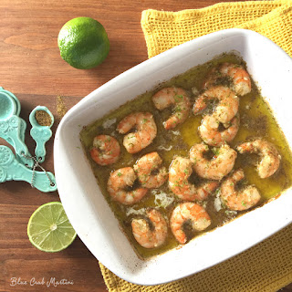 Cumin Lime Shrimp