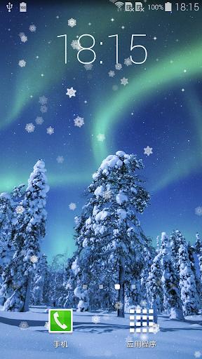 Aurora Winter Live Wallpaper