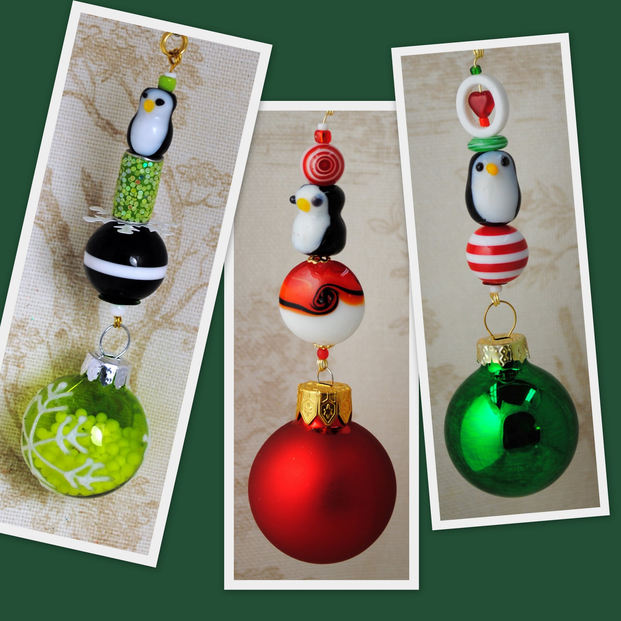 North Pole Pop! Christmas Tree Ornaments