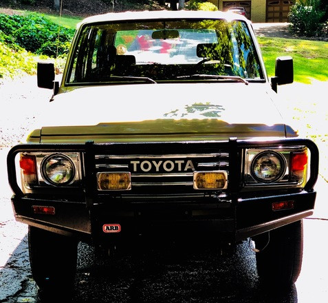 Classic Toyota 1981 Land Cruiser Hire GA