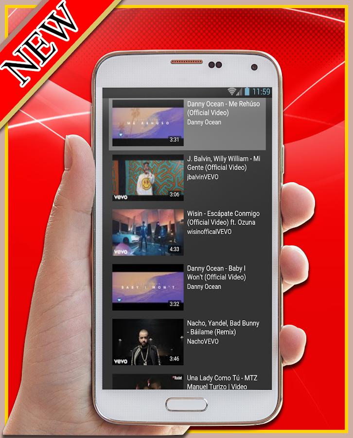 Danny Ocean-(Remix)Me Rehúso(Ft Bad Bunny)y Letras - Android Apps ...