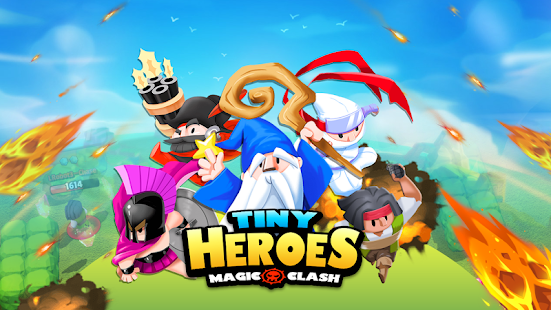 Tiny Heroes - Magic Clash Screenshot